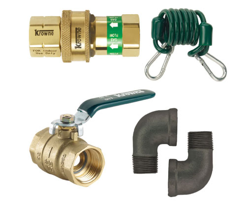 Krowne Gas Connector Accessories