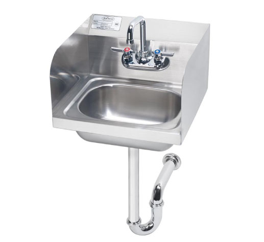 Browse Hand Sinks with Side Splashes