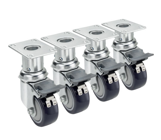 Adjustable Height Casters